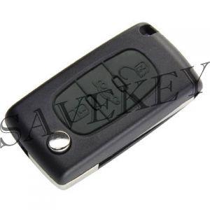 Дистанционный ключ Citroen с тремя кнопками