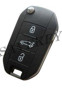 Дистанционный ключ Peugeot с тремя кнопками для Peugeot 508