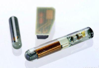 Транспондеры (чип иммобилайзера)