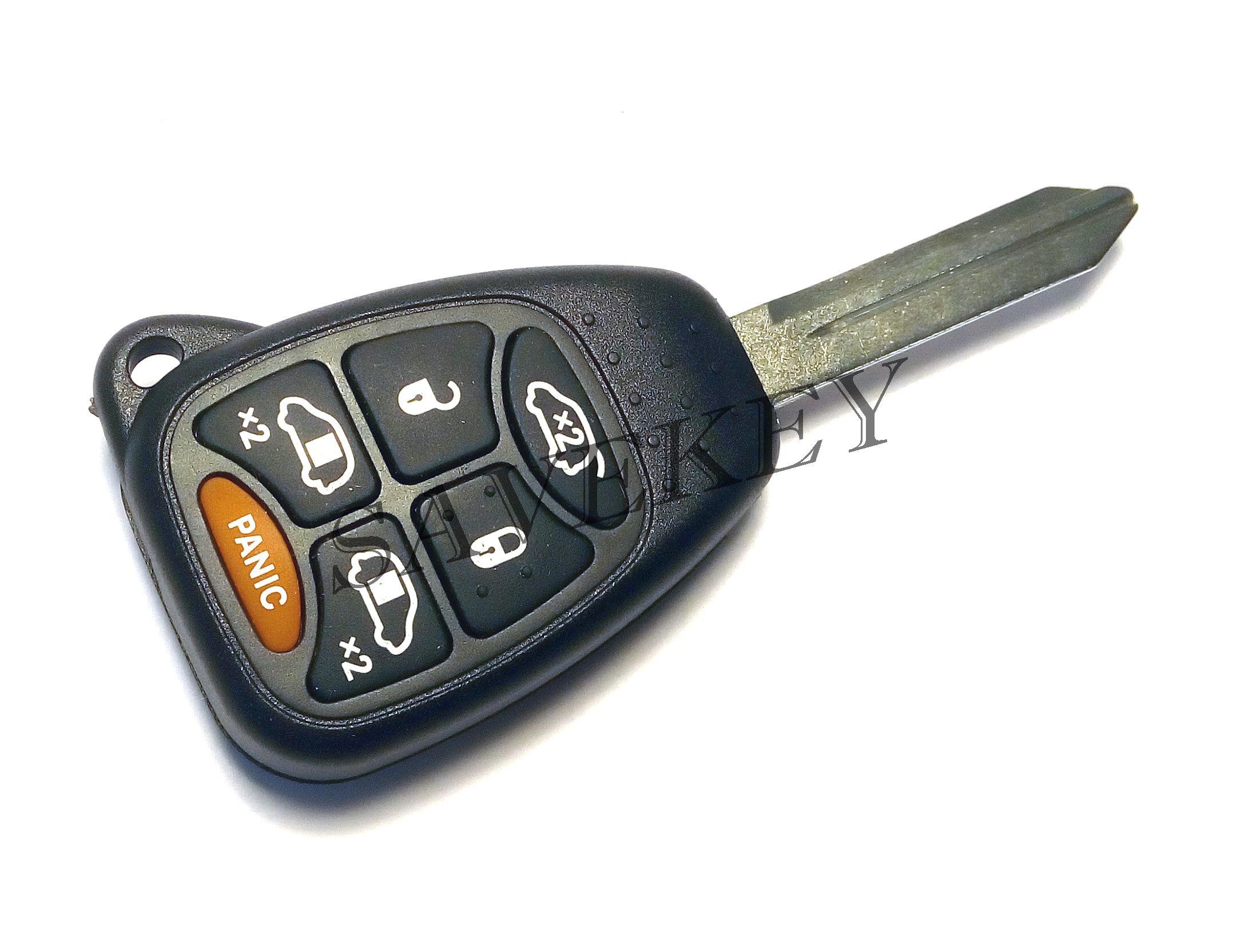 Дистанционный ключ Dodge для моделей Caliber, Caravan, Durango, Journeo, Neon, Ram, Stratus 6 кнопок 433 Mhz