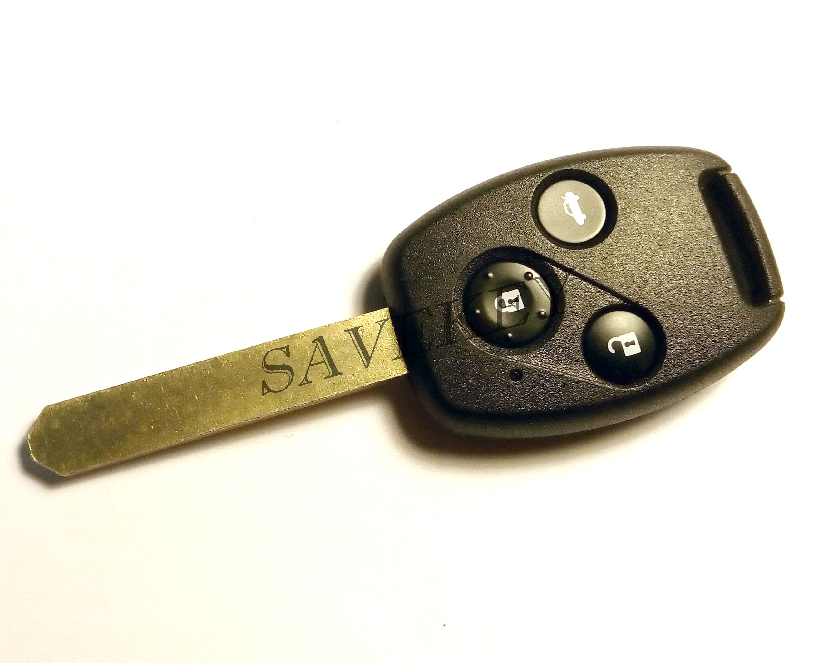 Дистанционный ключ Honda для моделей Accord, Civic, CR-V, Element, Jazz, Pilot 3 кнопки