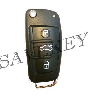 Дистанционный ключ Audi для моделей А1 с 2011г, Q3 с 2012г 220D