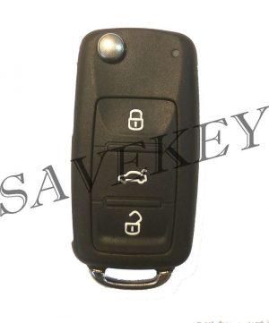 Корпус ключа Skoda