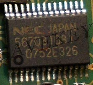 """Процессор NEC для ключа мерседес """"рыбка"""", подготовленный под запись"""