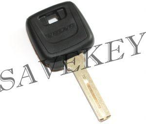Вольво S40, V40, 940, 850, 960 Ключ с чипом + прописка на машину (новый чип)
