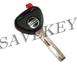 Вольво S40, V40, 940, 850, 960 Ключ с чипом + прописка на машину (копия чипа)