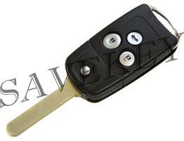 Дистанционный ключ Acura MDX RDX выкидной с тремя кнопками