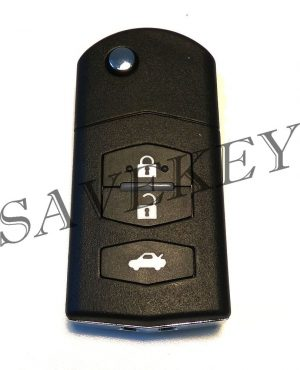 Дистанционный ключ Mazda 3 кнопки для моделей СХ-5, СХ-7, 5, 9