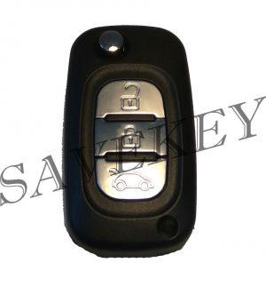 Дистанционный ключ Renault для моделей FLUENCE с 2009г , MEGANE III с 2009-2016г