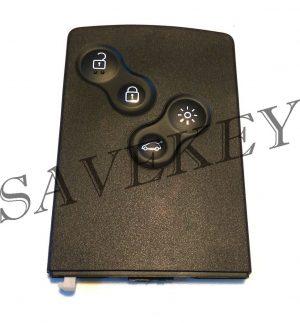 Ключ карта Renault для модели KOLEOS