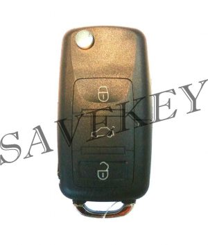 Копрус ключа Skoda 3 кнопки