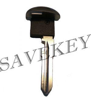 Лезвие смарт ключа Mazda с чипом