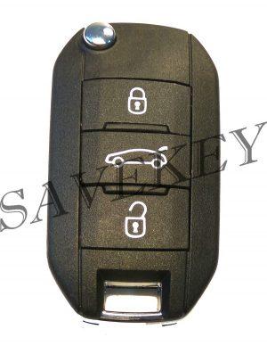 Дистанционный ключ citroen для модели с4 с 2012г