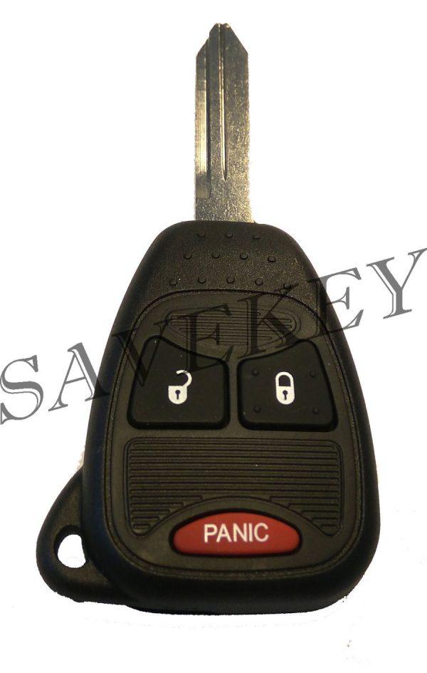 Дистанционный ключ dodge для моделей caliber, caravan, durango, journeo, neon, ram, stratus 433 mhz