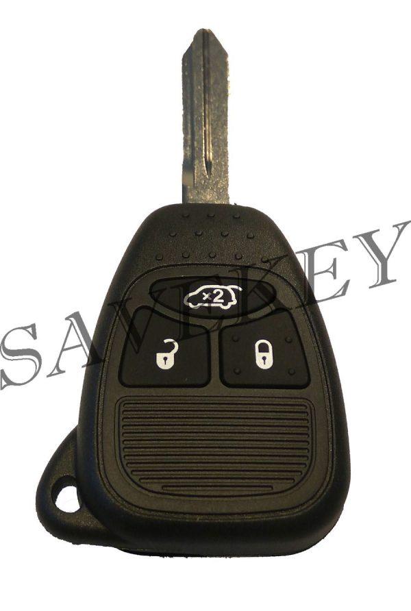 Дистанционный ключ jeep для моделей pacifica, liberty, compass, cherokee, liberty, wrangler 315 mhz