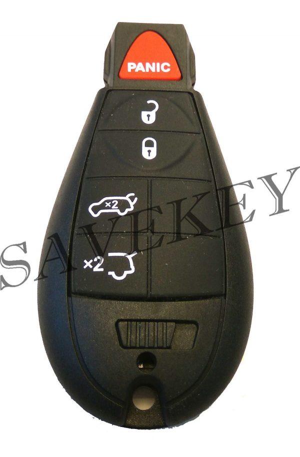 Смарт ключ dodge для моделей caliber, grand caravan, caravan, durango, journeo, neon, ram 433 mhz