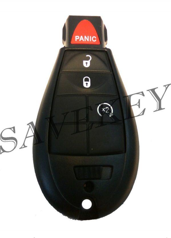 Смарт ключ dodge для моделей caliber, grand caravan, caravan, durango, journeo, neon, ram 433mhz